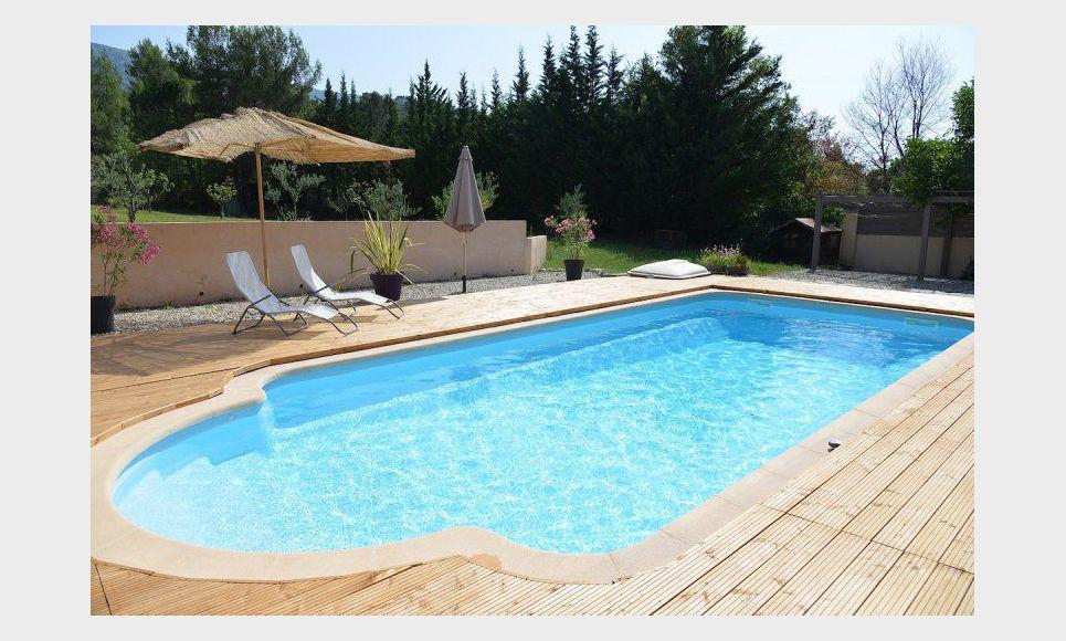 Maison ind pendante avec piscine 15min d 39 aix en provence vente maison villa vauvenargues - Terrasse piscine hors terre aixen provence ...