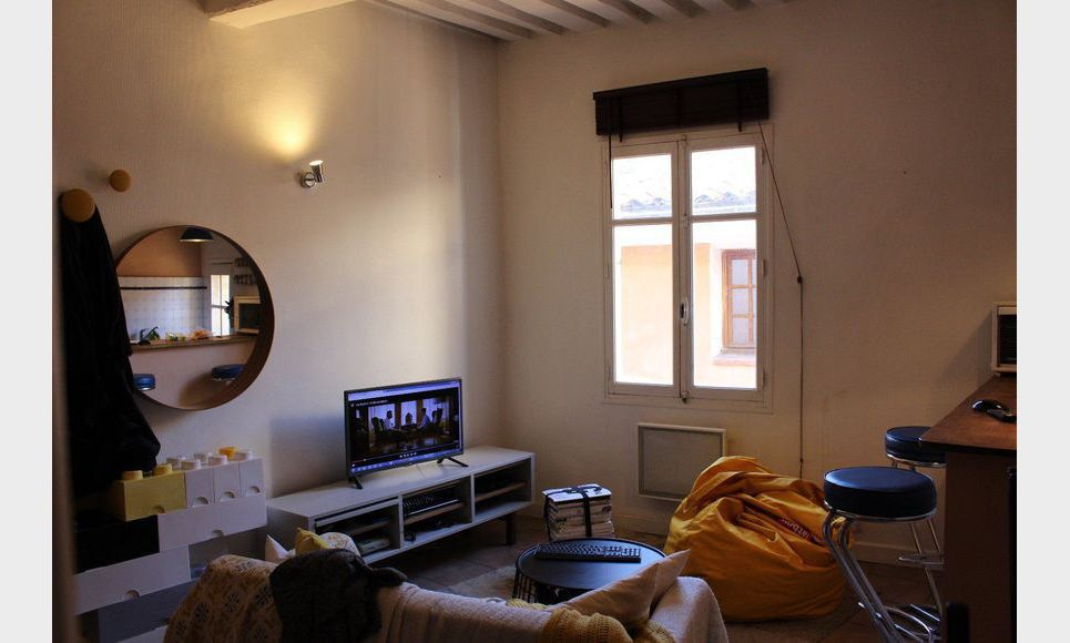 Appartement de type 2 meubl au calme en centre ville for Appartement de ville