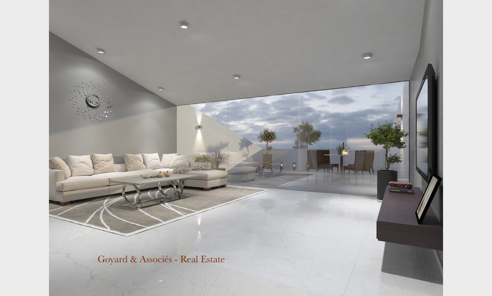 Programme neuf, appartement de grand standing avec terrasse,