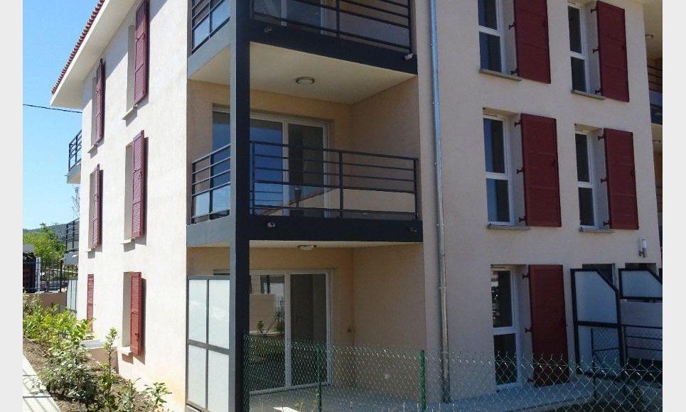 Appartement t3 neuf avec terrasse et parking