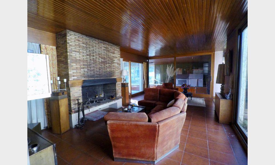 Villa d'architecte toit terrasse T6 261,55m2 sur 6700m2 : Photo 4