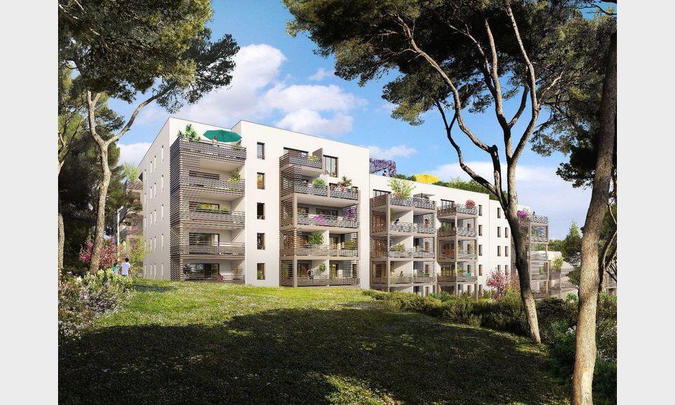 Appartement T2 39,76m2 - Terrasse - Garage (en sup)
