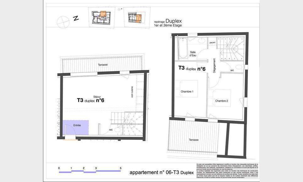 T3 duplex avec terrasses - Pertuis : Photo 1