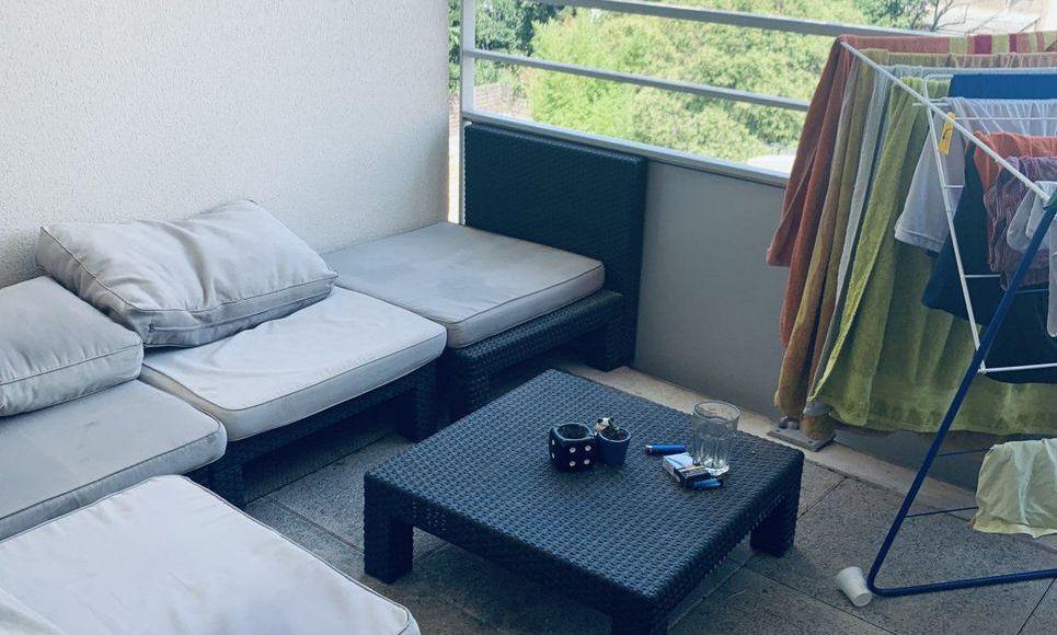 Marseille 4E arr. : T2 ds résidence avec terrasse et parking : Photo 4