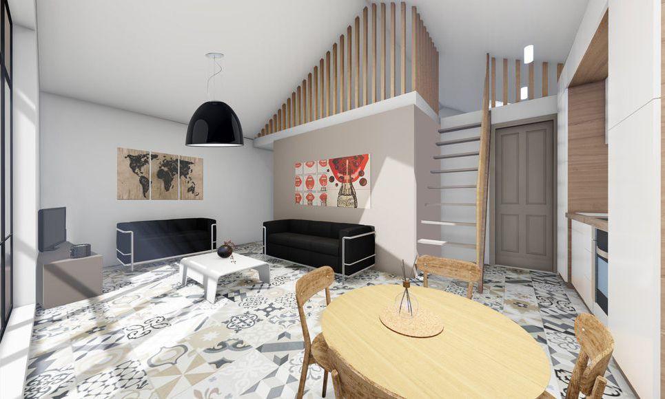 Appartement T3 45,3m2 : Photo 1