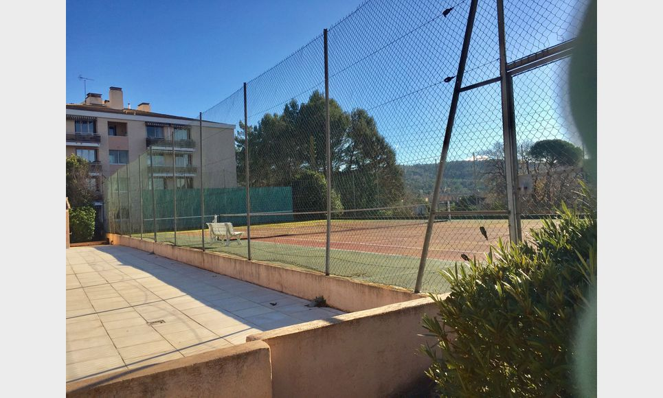 Aix Sud, T2 55 m2 résidence avec ascenseur, parking, cave : Photo 7