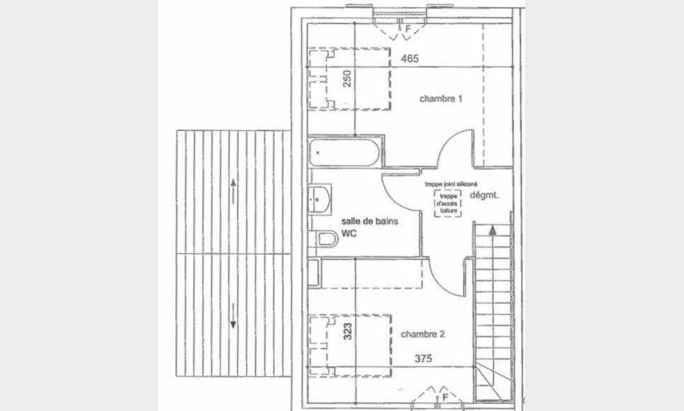 BRIGNOLES - Maison T3 de  71,10 m2 avec jardin : Photo 8
