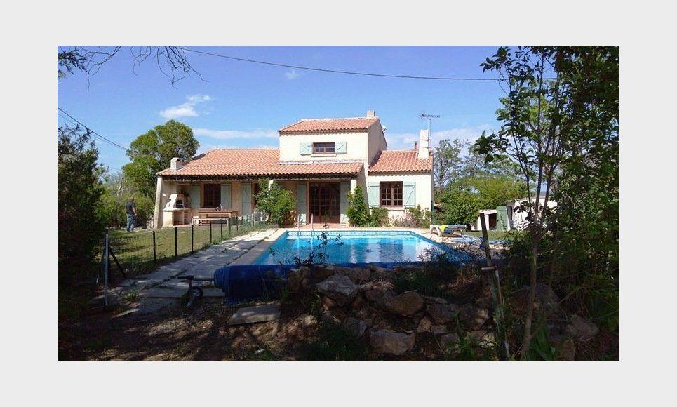 LES PENNES MIRABEAU Villa T5 113m2 sur 1300m2 jardin avec pi : Photo 2