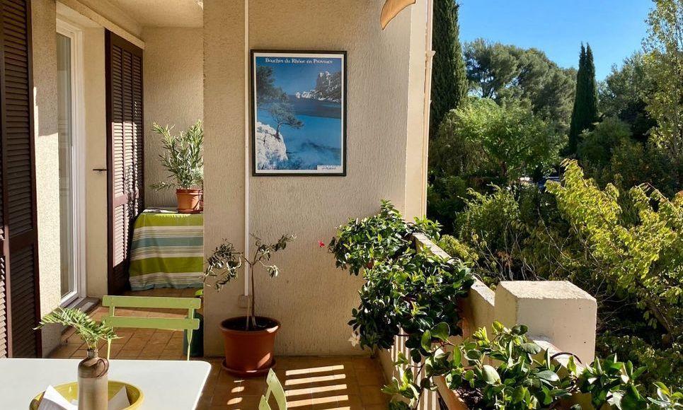 AIX LA TORSE - T4 104 m2 - Résidence avec piscine et tennis : Photo 1