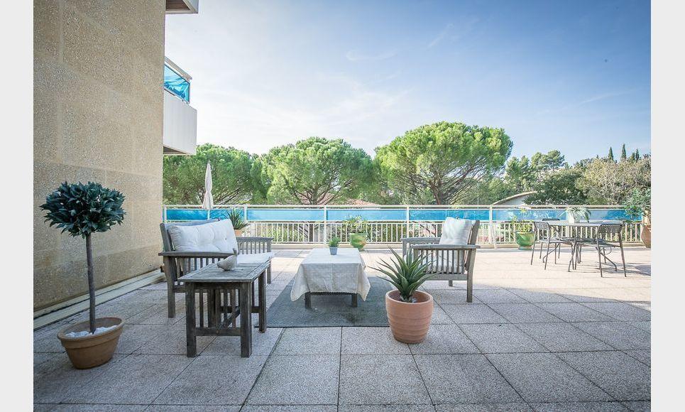 AIX CUQUES - T4 de 77,4 m2 - Terrasse privative 113,4 m2 : Photo 1