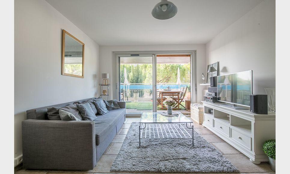 AIX CUQUES - T4 de 77,4 m2 - Terrasse privative 113,4 m2 : Photo 4