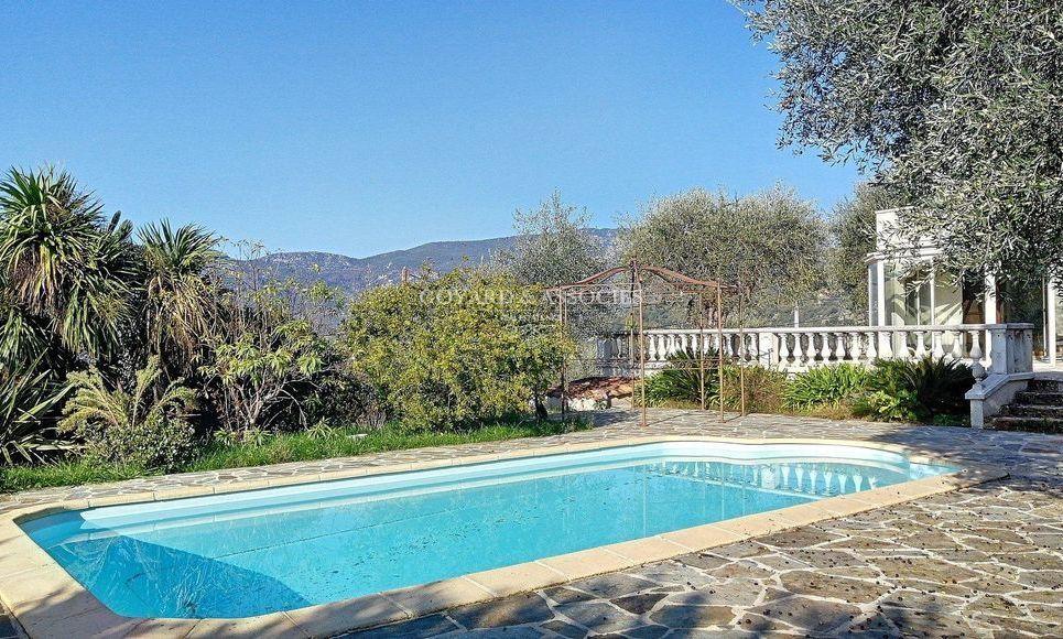 Villa avec piscine hauteur de Contes : Photo 1