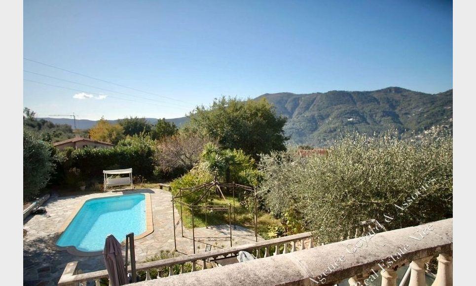 Villa avec piscine hauteur de Contes : Photo 4