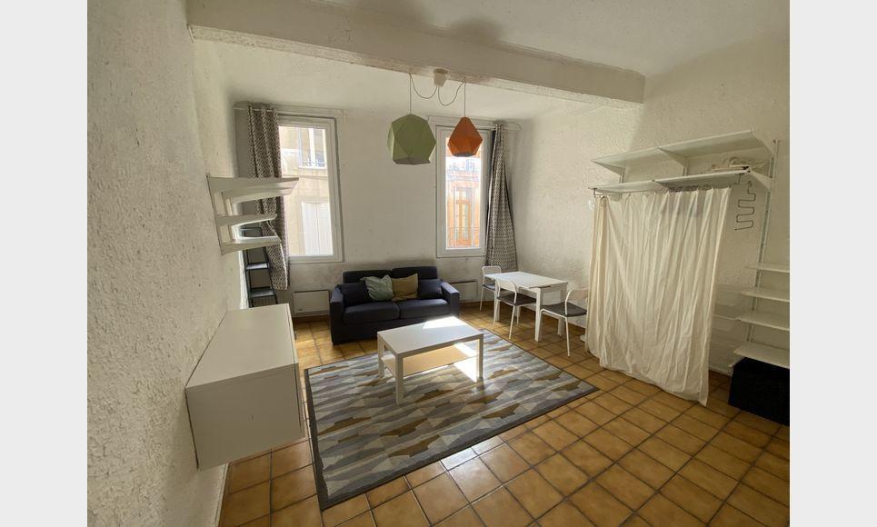 CENTRE-VILLE AIX - Studio meublé