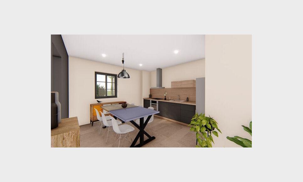AIX SUD - T4 de 76,7 m2 - Terrasse et Jardin : Photo 1