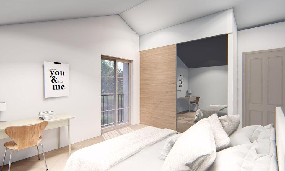 AIX SUD - T4 de 76,7 m2 - Terrasse et Jardin : Photo 4