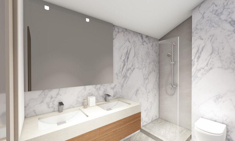AIX SUD - T4 de 76,7 m2 - Terrasse et Jardin : Photo 5