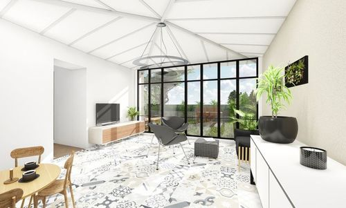 AIX LUYNES -  T3 en R+1 de 59,1 m2, jardin 58 m2 - Eligible