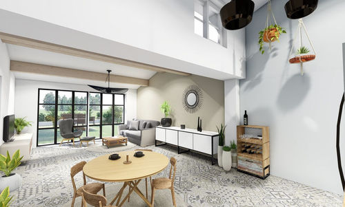 AIX LUYNES -  T3 en R+1 de 59,1 m2 - Jardin 58 m2