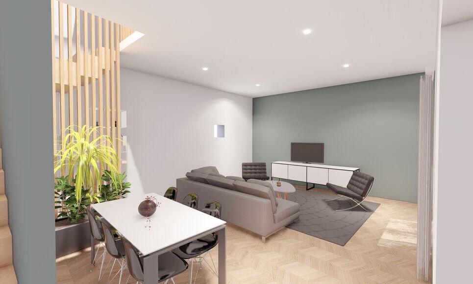 AIX COEUR DE VILLE - T4 de 98,45 m2 - Jardin et garage - : Photo 1
