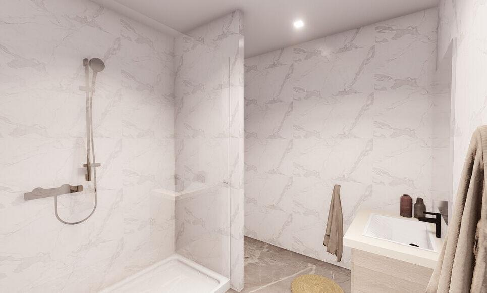 AIX COEUR DE VILLE - T4 de 98,45 m2 - Jardin et garage - : Photo 3