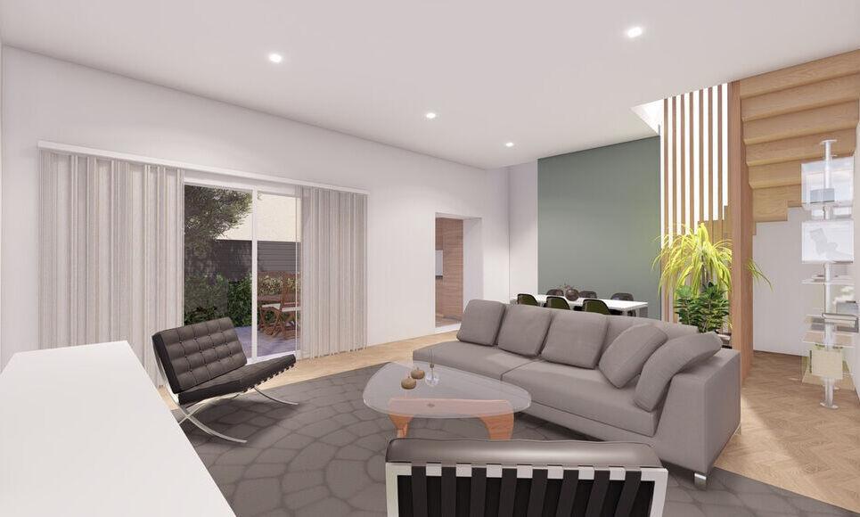 AIX COEUR DE VILLE - T4 de 98,45 m2 - Jardin et garage - : Photo 5
