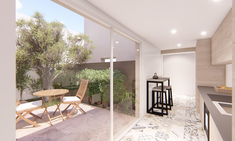 AIX COEUR DE VILLE - T4 de 98,45 m2 - Jardin et garage -