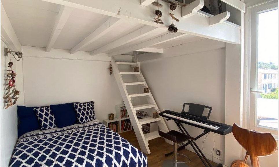 VENELLES CENTRE - T3 de 100 m2 - Duplex - Terrasse - Garage : Photo 6