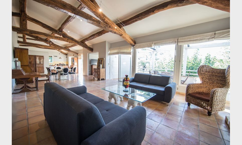 GOLF DE BARBAROUX - Villa T8 de 261 m2 - Terrain 2457 m2 : Photo 5